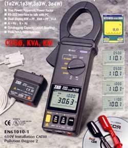 钳形功率表TES3063