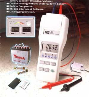 电池测试器TES-32A