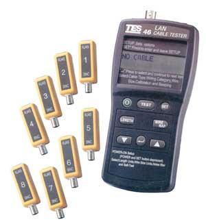 网络缆线测试器TES-46A
